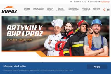 Ro-Poż. PHU. Rosińska M. - Odzież Robocza Ostróda