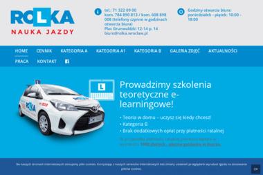 Rolka. Nauka jazdy - Szkoła Jazdy Wrocław