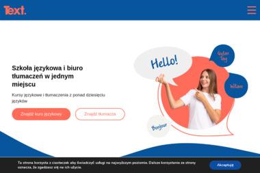 Centrum Językowe TEXT - Tłumaczenia przysięgłe, tłumaczenia konferencyjne, kursy językowe - Tłumaczenia przysięgłe Gdańsk