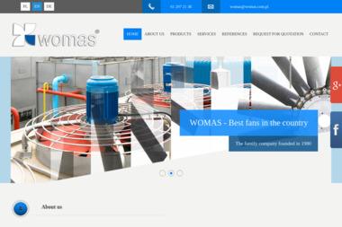Womas. Produkcja i sprzedaż wentylatorów przemysłowych - Wentylacja Mechaniczna Poczta Oborniki) Rożnowo