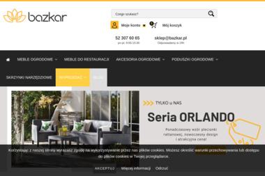 Bazkar. B.P. Bazyk Z. Kardasz S.J. - Meble ogrodowe, tarasowe Inowrocław