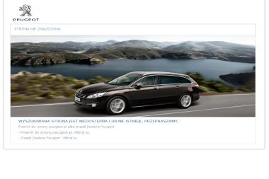 Ciesielczyk Peugeot. Autoryzowany koncesjoner - Samochody osobowe używane Suchy Las
