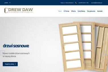 DREW DAW Zakład Stolarski Marian Wasielewski, stolarstwo budowlane - Okna aluminiowe Iława