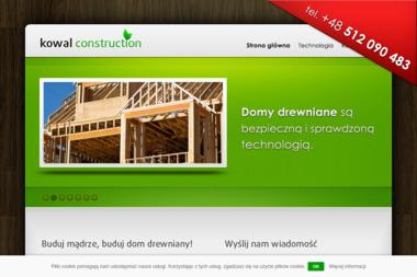 Kowal Construction - Domy modułowe Nowe Bielice