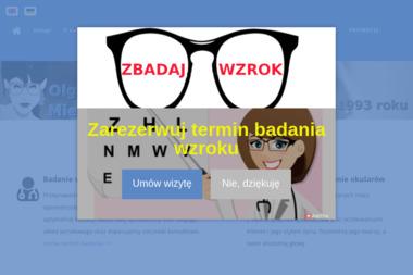 Salony Optyczne Olga Mielczarek - Okulary i soczewki Gdańsk