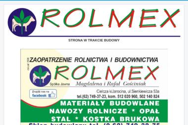 ROLMEX Spółka Jawna Magdalena Gościniak Rafał Gościniak - Ekogroszek Jarocin
