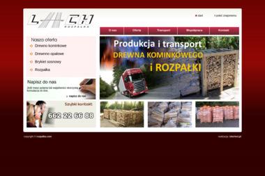 """""""Lach"""" transport , spedycja, opał , w w w.r o z p a l k a.c o m - Ekogroszek Dobra"""