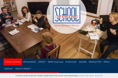 School of English. Szkoła języków obcych - Kurs włoskiego Ząbki