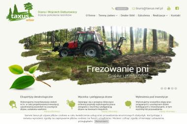 TAXUS Diana i Wojciech Gieburowscy - Projektowanie ogrodów Tychy Czułów