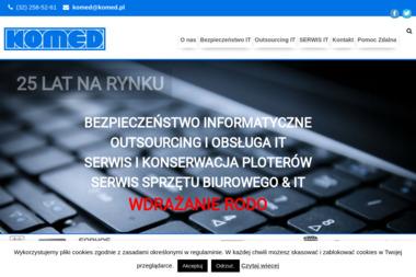 Komed - Serwis sprzętu biurowego Katowice