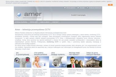 Amer. Telewizja przemysłowa, alarmy, kontrola dostępu - Systemy Alarmowe dla Firm Warszawa