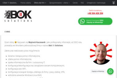 Bok 11 Solutions Wojciech Kaczmarek - Serwis komputerowy Wrocław
