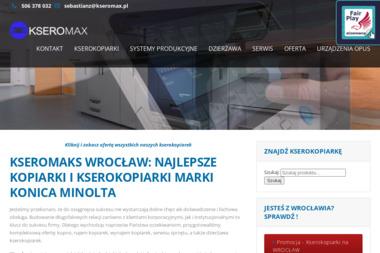 Kseromax. Sp. z o.o. Kopiarki, drukarki - Druk katalogów i folderów Wrocław