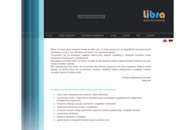 LIBRA Biuro Rachunkowe Usługi księgowo - kadrowe. Obsługa w jęz. niemieckim - Doradca podatkowy Wrocław