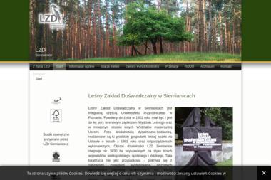 Leśny Zakład Doświadczalny - Skład drewna Poczta Łęka Opatowska) Siemianice