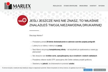 Marlex. Sp. z o.o. Drukarnia offsetowa - Naklejki Stalowa Wola