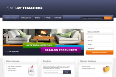 Plast-Trading. Sp. z o.o. Akcesoria meblowe, zaślepki, regulatory poziomu - Meble ogrodowe, tarasowe Lipka