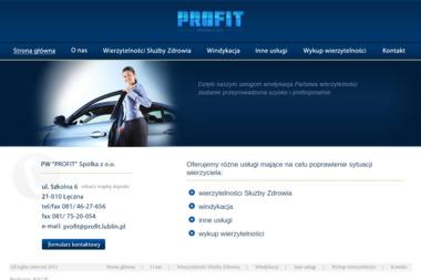Profit. Sp. z o.o. Obrót wierzytelnościami. Wykup i windykacja należności - Skup Długów Łęczna