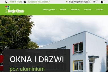 Twoje Okna SC. Doradztwo, projekty, montaż - Sprzedaż Okien Aluminiowych Szczecin