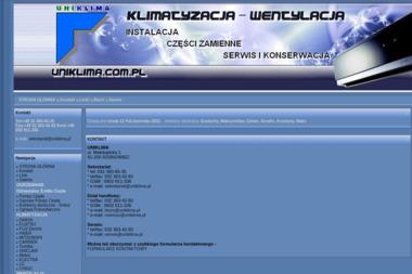 UNIKLIMA  Klimatyzacja, wentylacja, chłodnictwo - Rekuperacja Sosnowiec