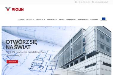 Violin. Sp. z o.o. Okna PCV - Okna Aluminiowe Nowy Sącz