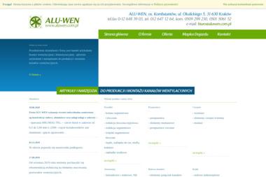 Alu-Wen. Akcesoria wentylacyjne, systemy podwieszeń - Kanały Wentylacyjne Kraków