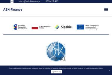 ASK-Finance. Kancelaria finansowo - księgowo - podatkowa mgr Anna Szafarczyk-Kasicka - Biuro rachunkowe Katowice