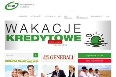 Bank Spółdzielczy - Rachunki bankowe Strzelno