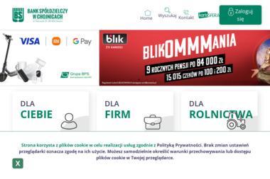 Bank Spółdzielczy w Chojnicach - Kredyt dla firm Chojnice