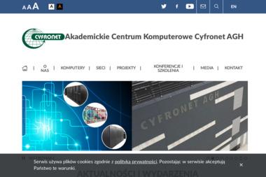 Cyfronet AGH. Akademickie Centrum Komputerowe - Systemy elektroniczne Kraków