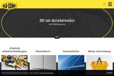 Ele-Comp. Sp. z o.o. Hurtownia elektryczna, salon światła - Sprzedaż Osprzętu Elektrycznego Rzeszów