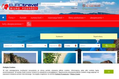 Euro Travel. Biuro Podróży - Wycieczki i wczasy Łódź