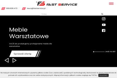 Fast-Service. PPUH. Tadeusz Sochoń. Meble warsztatowe - Szafy Do Zabudowy Wasilków