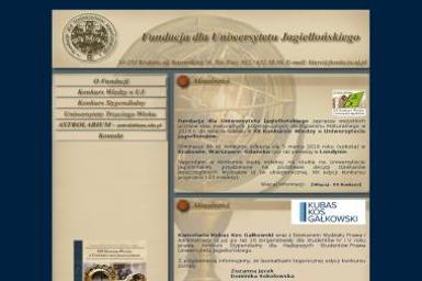 Fundacja dla Uniwersytetu Jagiellońskiego. Organizator kongresów i konferencji - Organizacja wesel Kraków