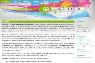 Grafmar. Sp. z o.o. Drukarnia, druk pozycji książkowych - Naklejki Kolbuszowa Dolna