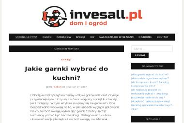 Invesall. Sp. z o.o. Agregaty prądotwórcze - Minikoparki Łódź