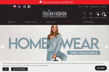 Italian Fashion. Sp. z o.o. Producent bielizny - Bielizna damska Zielonka