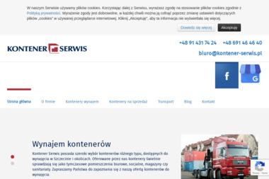 Kontener-Serwis. Wynajem, sprzedaż kontenerów, transport samozaładowczy - Zaplecze budowlane Szczecin