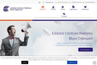 Łódzkie Centrum Reklamy. Biuro ogłoszeń Rzeczpospolita, Gazeta Wyborcza - Dom mediowy Łódź