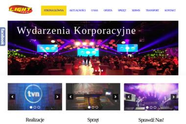 Light-Tech. Sceny, oświetlenie, nagłośnienie - Wypożyczalnia Oświetlenia Lublin