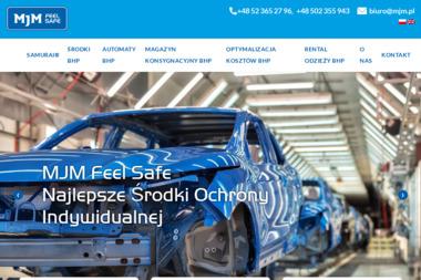 MJM. Środki ochrony pracy - Odzież robocza Bydgoszcz