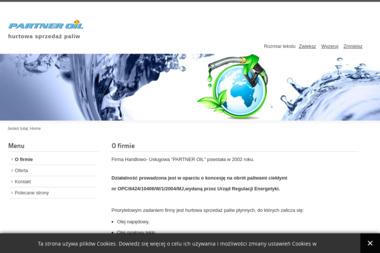Firma Handlowo - Usługowa PARTNER OIL - Olej Grzewczy Oświęcim