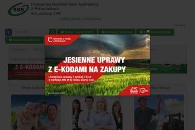 Pobiedzisko - Gośliński Bank Spółdzielczy - Rachunki bankowe Pobiedziska