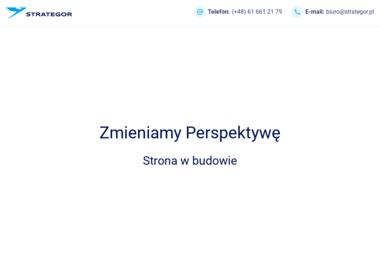 STRATEGOR Wielkopolskie Centrum Ekspertyz Finansowych - Biznes plan Poznań