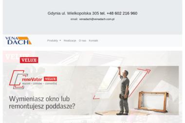Vena Dach SC. Pokrycia dachowe - Pokrycia dachowe Gdynia