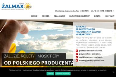 Żalmax. Produkcja i montaż żaluzji - Żaluzje, moskitiery Kraków