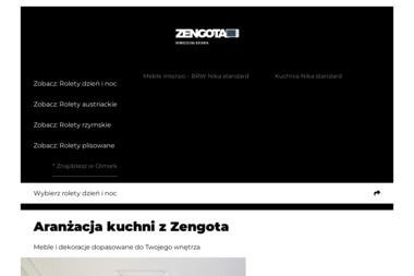 Zengota. Meble kuchenne, AGD, meble na zamówienie - Meble Kobylanka