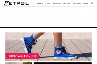 Zetpol. Producent obuwia tekstylnego dla dzieci i dorosłych - Obuwie dla dzieci i młodzieży Poczesna