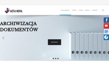 Acta Nova - Niszczenie dokumentów Szczecin