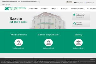 Bank Spóldzielczy w Strzyżowie - Kredyt hipoteczny Strzyżów